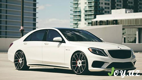 Savini Wheels-dən Mercedes S63 AMG