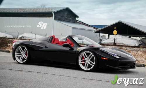 SR Auto Group-dan Ferrari 458 Spider