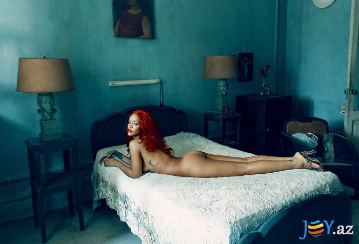 Vanity Fair Rihanna (www.JOY.az)